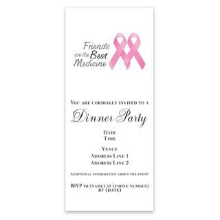 Survivor Ribbon Invitations  Breast Cancer Survivor Ribbon Invitation