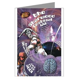 Starwood 2001 Masks Greeting Cards (Pack for