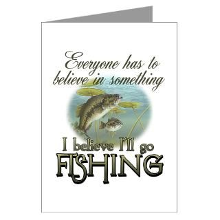 Bass Fishing Greeting Cards  Buy Bass Fishing Cards