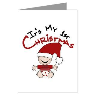 Babys First Christmas Greeting Cards  Buy Babys First Christmas