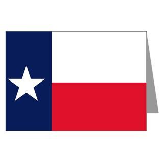 Texas Flag Greeting Cards (Pk of 10) for