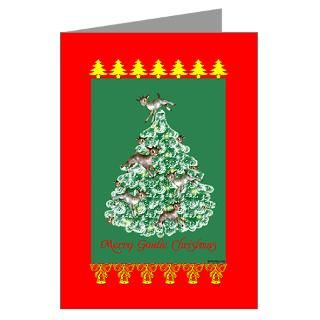 Goat Christmas Greeting Cards  Buy Goat Christmas Cards