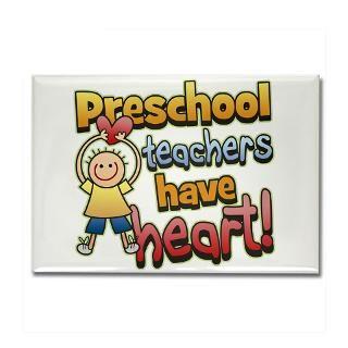 Preschool Teachers Have Heart T Shirts & Gifts  Koncepts by Karyn