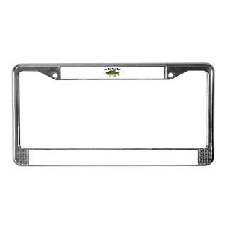 Fish Bones License Plate Frame  Buy Fish Bones Car License Plate