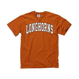 Texas Longhorns Dark Orange Bold Arch Mascot T Shi