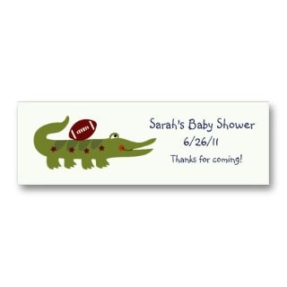 Baby Shower Favor Tags Business Cards, 457 Baby Shower Favor Tags