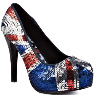 All Shoes / Iron Fist / Jacked Up Platform   Blue