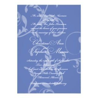 Invitation 200 in French Blue
