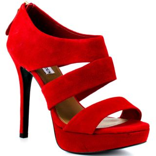 Steve Maddens Red Buzzzer   Red Suede for 129.99