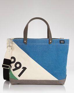 Jack Spade Sail Printed Coal Tote Bag