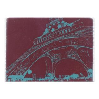 Eiffel Tower Paris Invitations