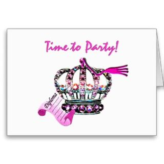 Time to Party! Graduation Cards / Invitations