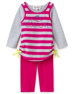 Couture Infant Girls Striped Shirt & Leggings Set   Sizes 3 24 Months