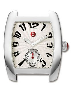 Urban Mini Stainless Steel Watch Head, 29 mm x 35 mm