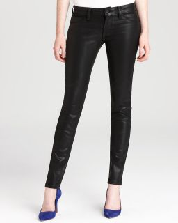 Quotation SOLD design lab Jeans   Coated Skinny Jeans in Black