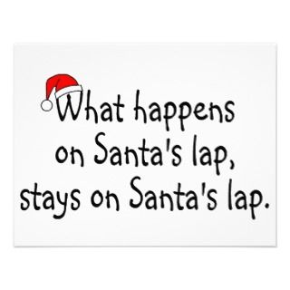 What Happens On Santas Lap Stays On Santas Lap 2 Personalized