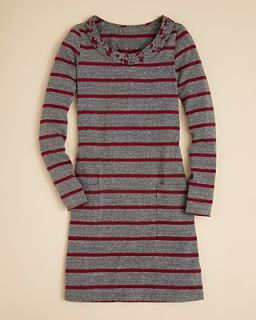 Aqua Girls Stripe Jersey Dress   Sizes S XL