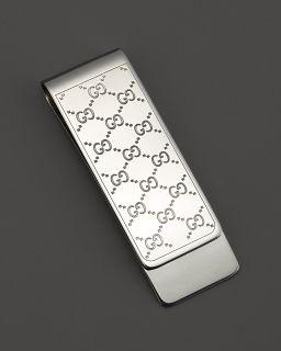 Gucci Sterling Silver Icon Money Clip