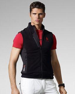 rlx ralph lauren full zip microfleece vest price $ 165 00 color
