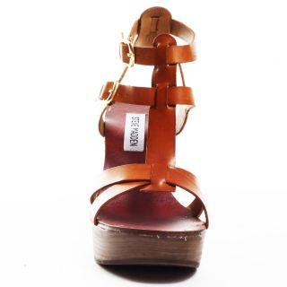 Quinella   Tan Leather, Steve Madden, $55.99