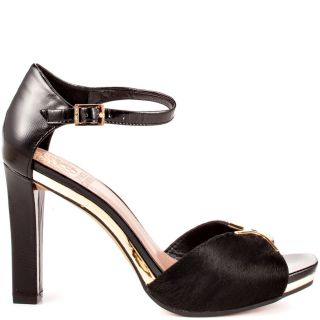 Vince Camutos Black Thane   Black Solid Pony Patent for 114.99