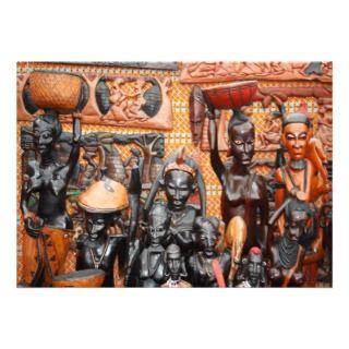 African art invitations