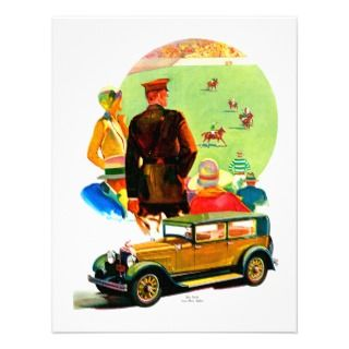 Classic Automobile Hot Rod Personalized Invitation