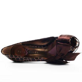 Destiny Pump   Brown Croc, Paris Hilton, $85.49