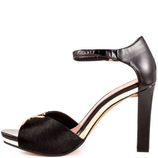 Black Thane   Black Solid Pony Patent for 114.99