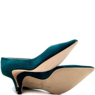 Ivanka Trumps Green Indico   Med Green Suede for 119.99