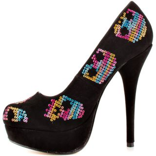 Iron Fists Multi Color Sugar Hiccup Plat   Multi Black for 59.99