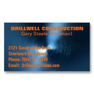 BLUE METAL POINT Business Card