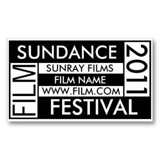 SUNDANCE FILM FESTIVAL 2011 BUSINESS CARD
