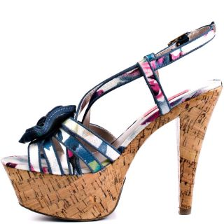 Betsey Johnsons Multi Color Circle   Blue Multi for 99.99