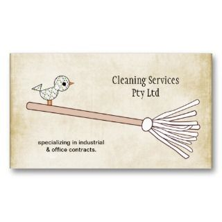 Cleaner Cleaning Service Business Profile Card Business
