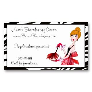 cleaning diva business cards by ladydenise choose your own business