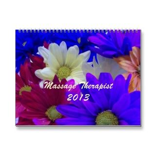 Unique 2013 Calendar for Massage Therapists   each month with a