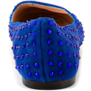 Betsey Johnsons Blue Bliiingg   Blue Suede for 89.99