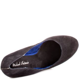 Michael Antonios Black Gezana 2   Black Suede for 64.99