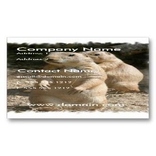 Prairie Dogs Business Card