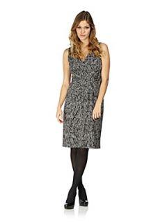 Planet Mini spot print dress Black