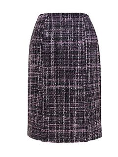 Homepage  Clearance  Women  Skirts  Eastex Purple tweed pencil