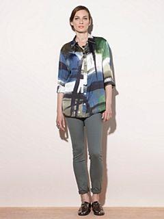 Mary Portas The High Waist Skinny Jean Green
