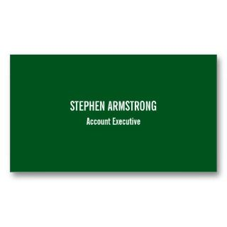 Simply modern evergreen minimalist professional business card template