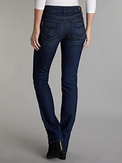 Paige Skyline mid rise straight leg jeans in Finnley Denim Mid Wash