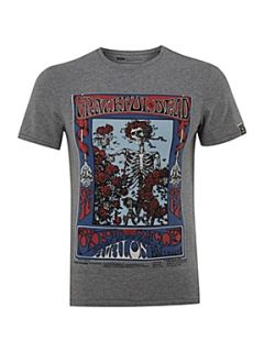 Levis Crew neck graphic printed T shirt Grey