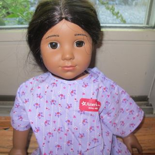 American Girl Kaya 18 Doll 2 Books and AG Messenger Bag