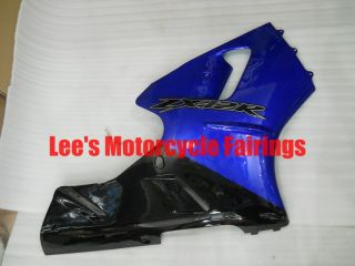 Kawasaki Ninja zx12r 2000 2001 Blue Black Race Motorcycle Fairings