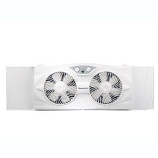 New Kaz Inc Honeywell HW 305 Window Fan 3 Speed Settings Rain