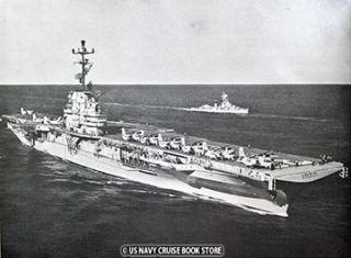 USS Kearsarge CVS 33 Cruise Book 1959 1960 2 Volume Set